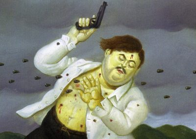 La mort de Pablo Escobar vue par Fernando Botero