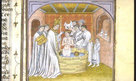 Le Baptême de Rollon dans les chroniques de Saint-Denis