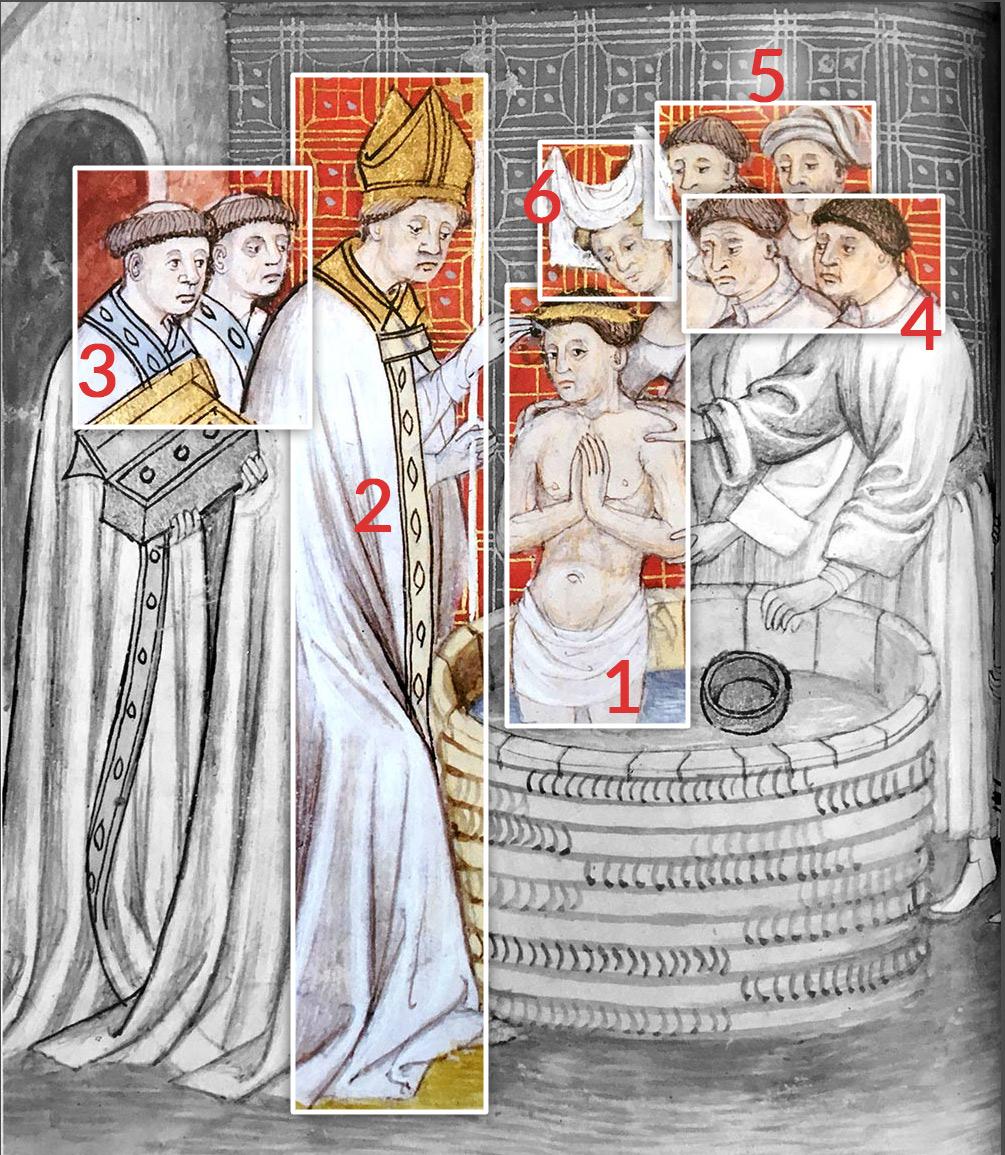 Le baptême de Rollon en 912
