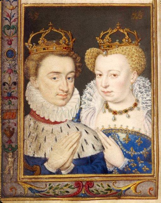Henri de Navarre et Marguerite de Valois| 1572