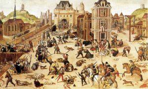 massacre de la saint barthelemy