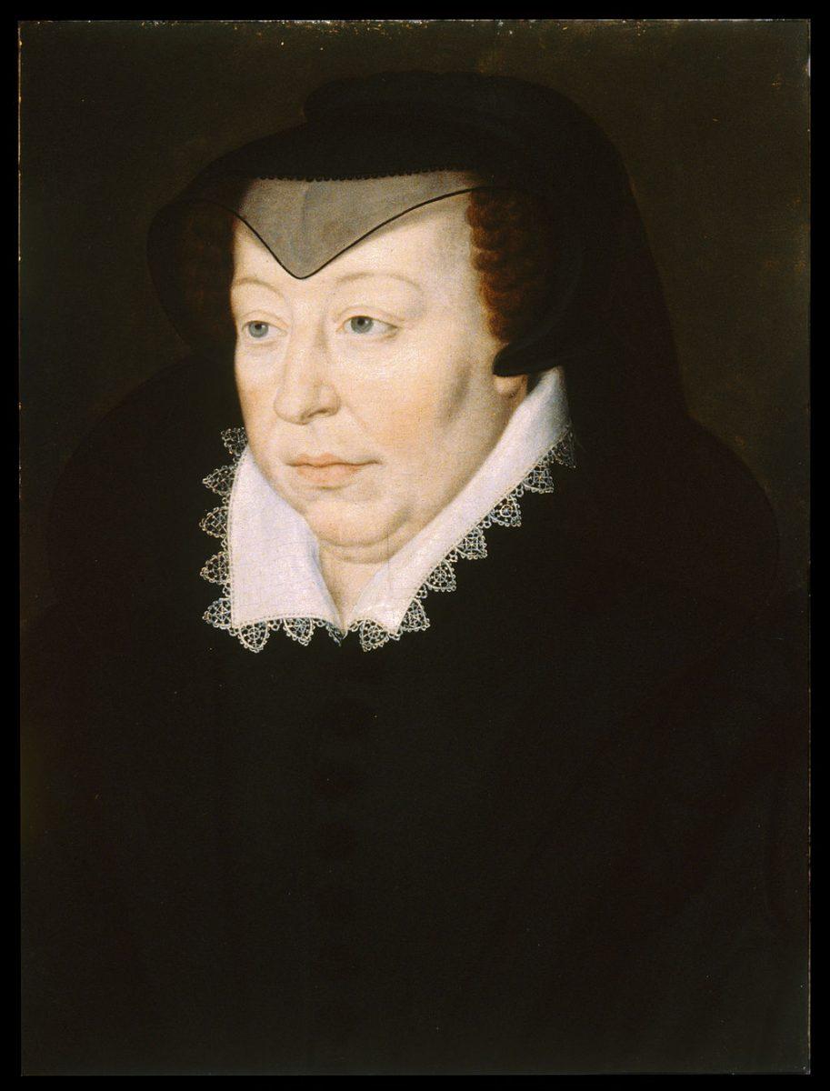 Catherine de Médicis par françois-clouet - 1560