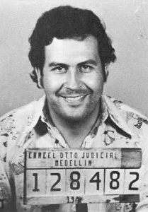 Pablo Escobar en 1977