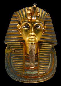 Masque en or de Toutankhamon