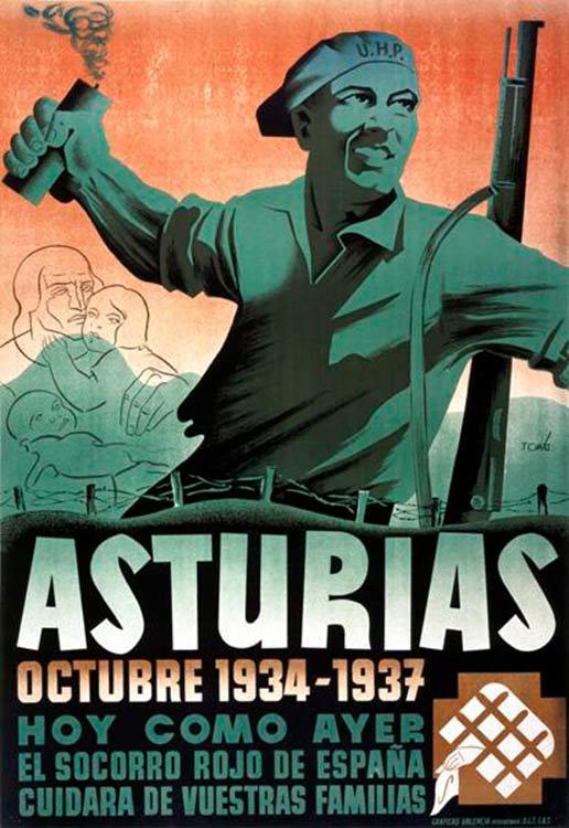 La révolte des Asturies en 1934