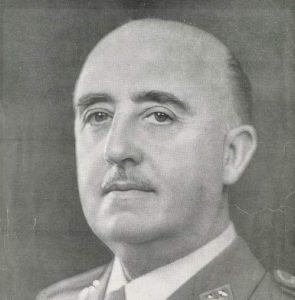 Francisco Franco en 1964
