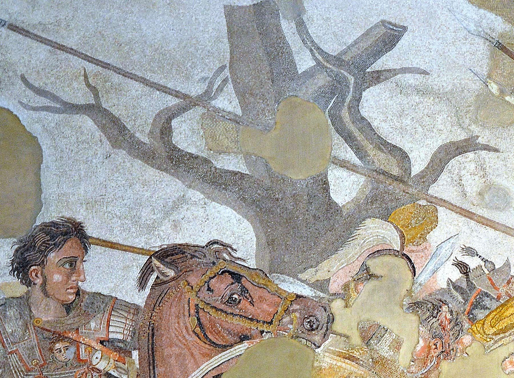 L'Arbre sec de la bataille d'Issos