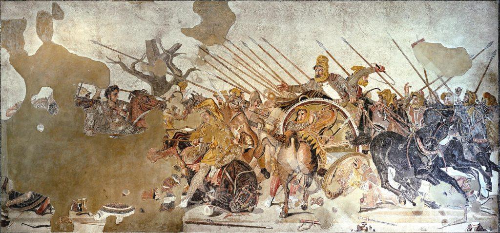 La bataille d'Issos - Alexandre le Grand contre Darius III