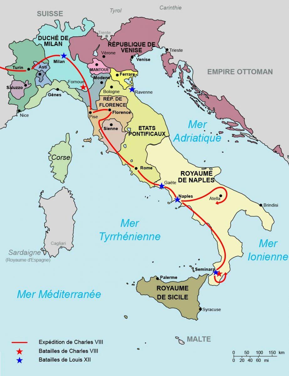 Guerres d'Italie pendant les règnes de Charles VIII et Louis XII