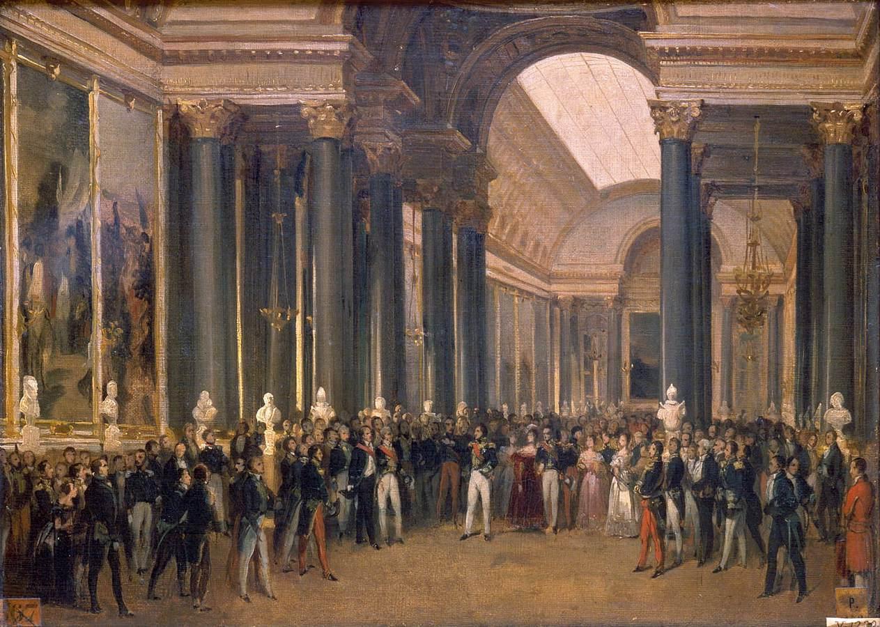 Inauguration de la galerie par Louis-Philippe le 10 juin 1837, de François-Joseph Heim