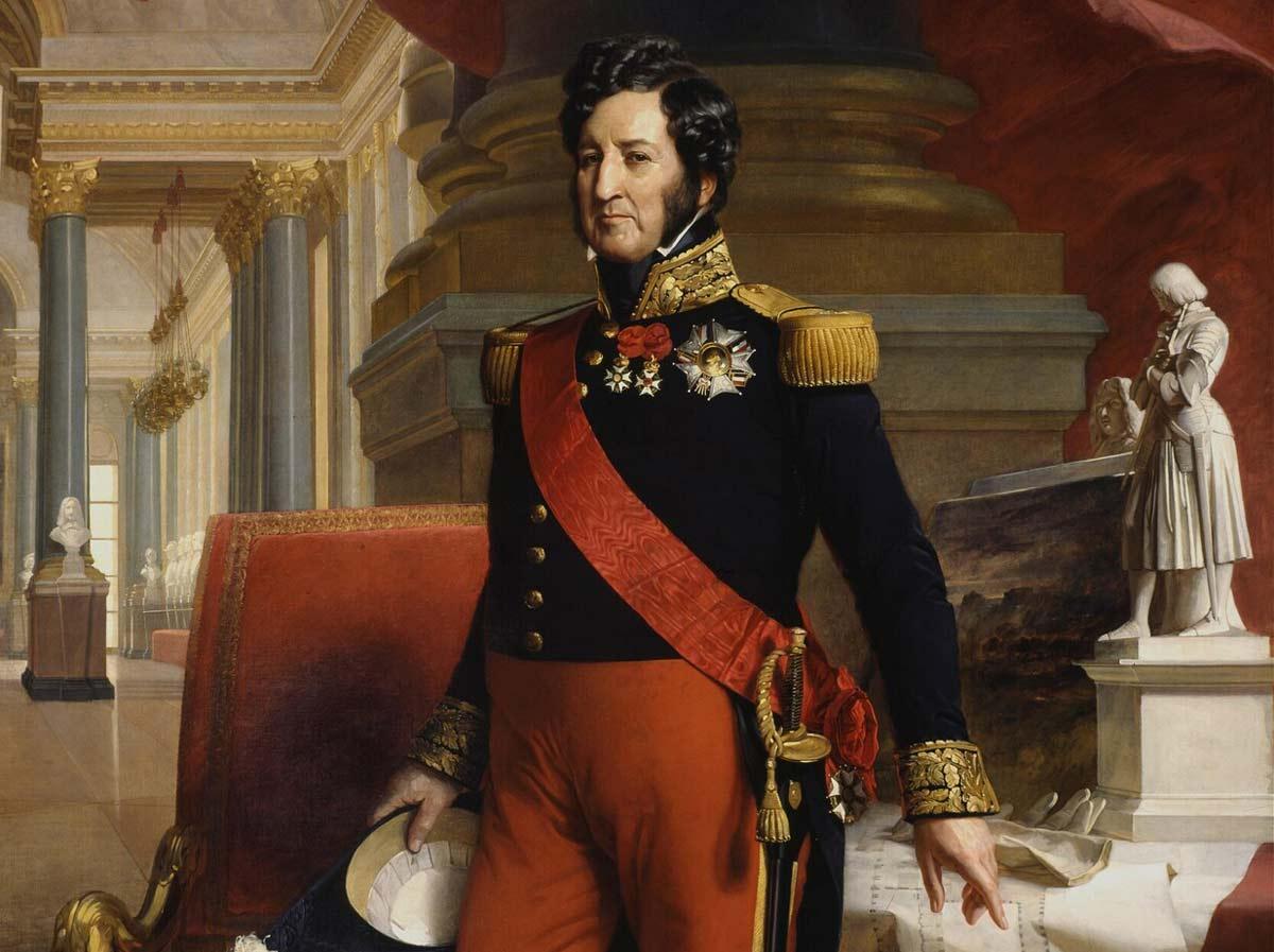 Louis-Philippe en 1841 par Franz Xaver Winterhalter