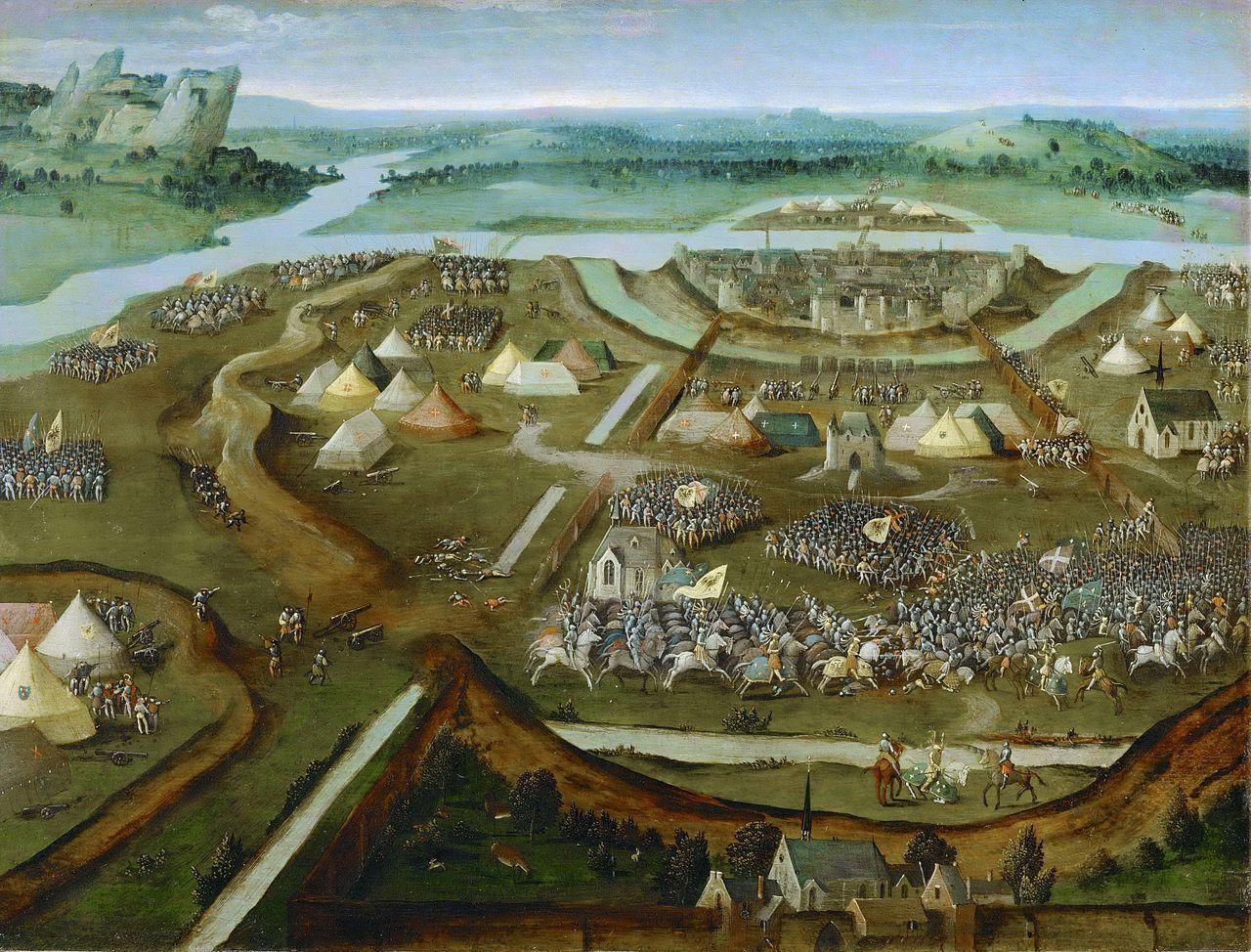 Bataille de Pavie - 1525 - Joachim Patinir