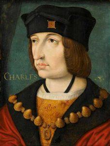 Portrait de Charles VIII - Musee de Conde