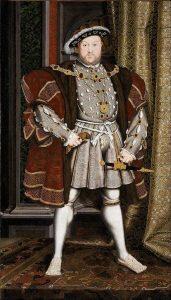 Portrait de Henri VIII par Hans Holbein le jeune