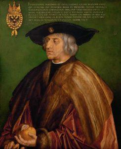 Portrait de Maximilian par Albrecht_Dürer
