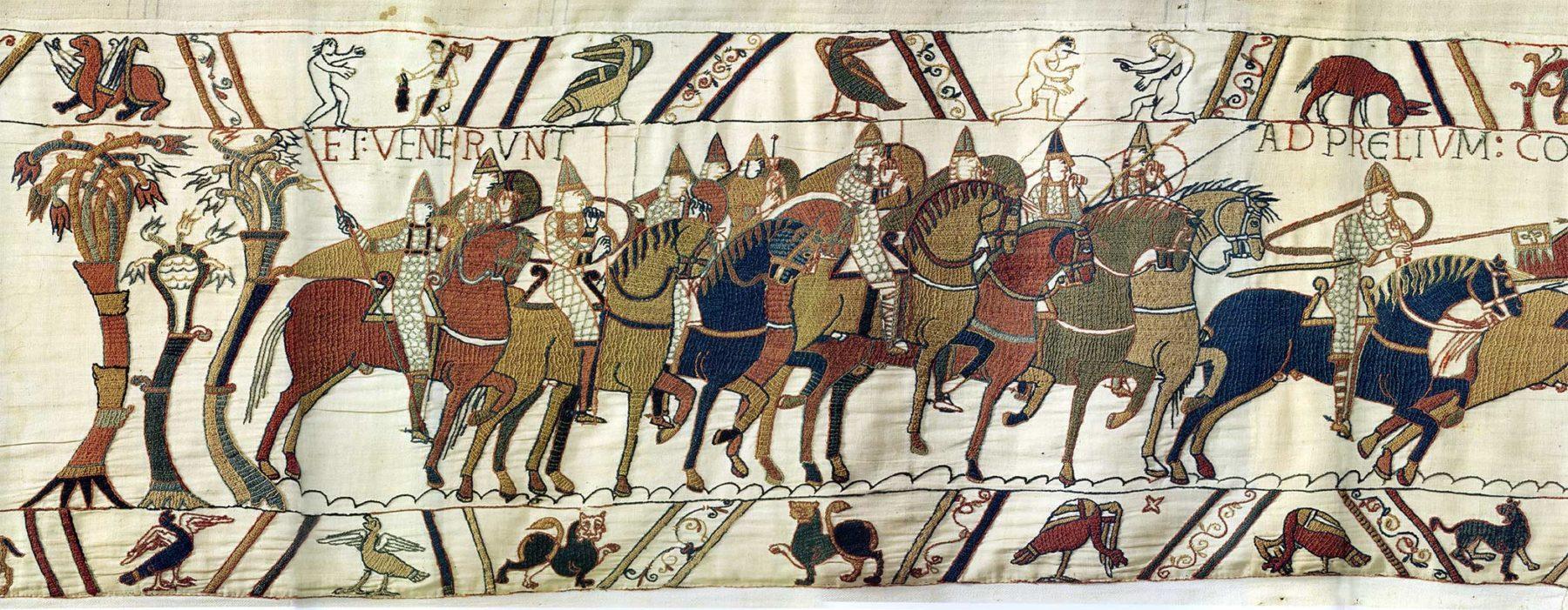 15 - Tapisserie de Bayeux - Départ de l'armée normande