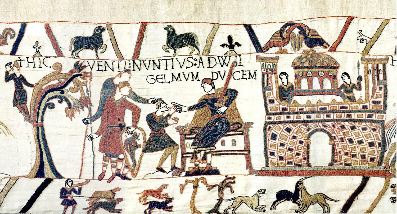 3-Tapisserie de Bayeux - guillaume le conquerant - premiere apparition