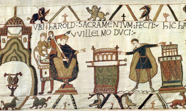 Guillaume le conquérant, star de la tapisserie de Bayeux