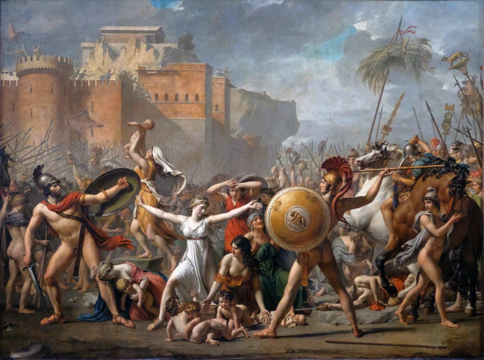 Les Sabines par Jacques-Louis David