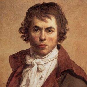 Jacques Louis David - Autoportrait